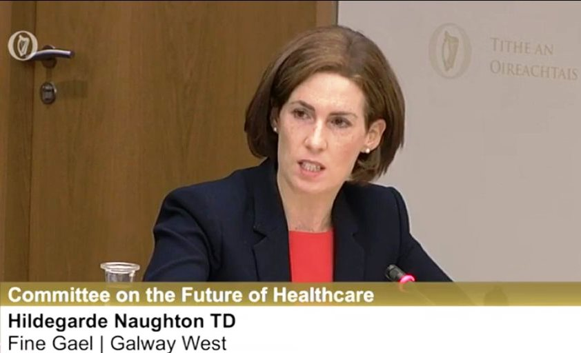 Interviews with Hildegarde Naughton planning future of healthcare