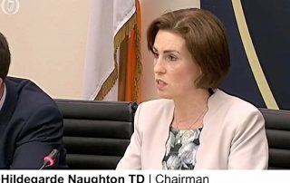 Hildegarde Naughton Video Entries communications on climate change and resources Eircode and Broadband