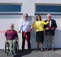 web GBSC CUTTING THE RIBBON OFFICIAL OPENING 200x186 - Grant for Galway Bay Sailing Club