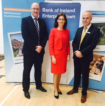 Bank of Ireland supporting enterprise town event in oranmore