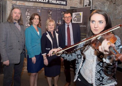 Violinist at Galway Music Centre & Druid Theatre
