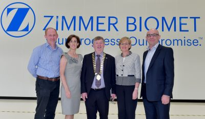 Jobs, Innovation and Enterprise Zimmer Bionmet meet Hildegarde and galway county council