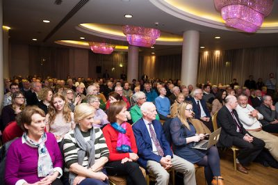 Audience at brexit meeting in salthill galway