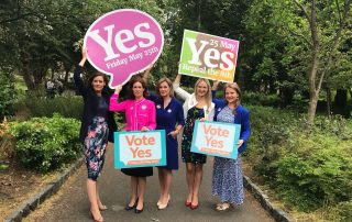 yes vote 320x202 - Referendum on the 8th Amendment to the Irish Constitution