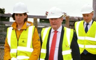Deputy Hildegarde Naughton T.D viewing the positive progress on the €7 million Claregalway Flood Relief Scheme with Minister Sean Canny e1507195349270 320x202 - Deputy Hildegarde Naughton Priorities
